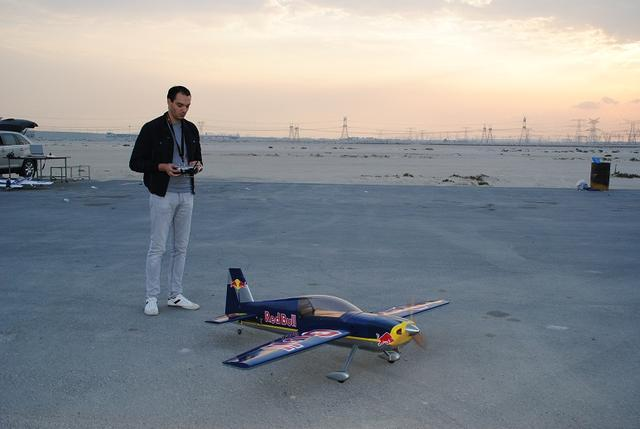 Edge 540 Red Bull 32cc Brand New maiden only - AED 4000